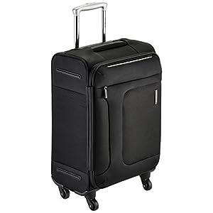 [サムソナイト] SAMSONITE ASPHERE/アスフィア スピナー55 (55cm/39L/2.4Kg) (スーツケース・ソフトケース・トラベル・機内持込サイズ・軽量・大容量・エキスパンダブル・TSAロック装備・保証付) 72R*09001 09 (ブラック)