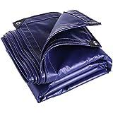 QL 防水布 - 厚い防水布 - PVCの防水シートの耐摩耗性日焼け止めアンチエイジング550g / m2-0.65mm tarp (Size : 3*6m)