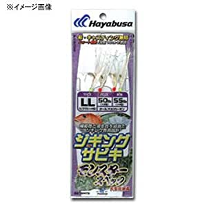 ハヤブサ(Hayabusa) ジギングサビキ モンスタースペック L