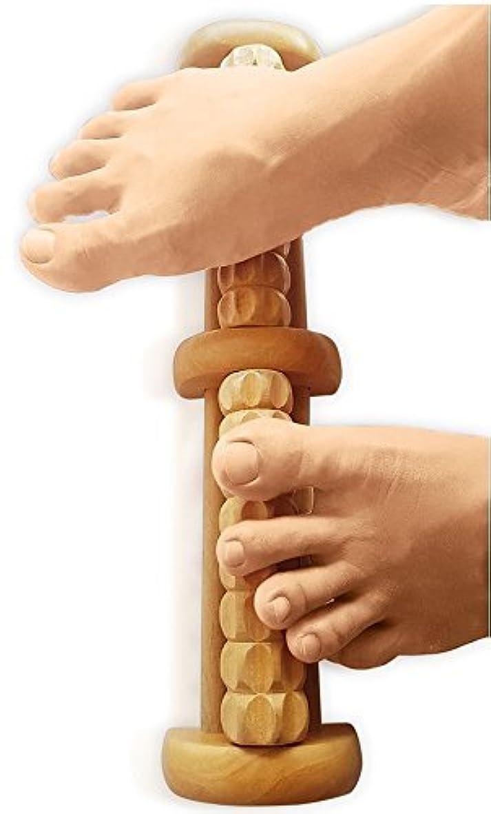 宝石鉱石空洞(New) TheraFlow Foot Massager Roller - Plantar Fasciitis, Trigger Point Relief - Acupressure Reflexology Tool...