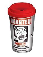 Rick and Morty Travel Mug Wanted