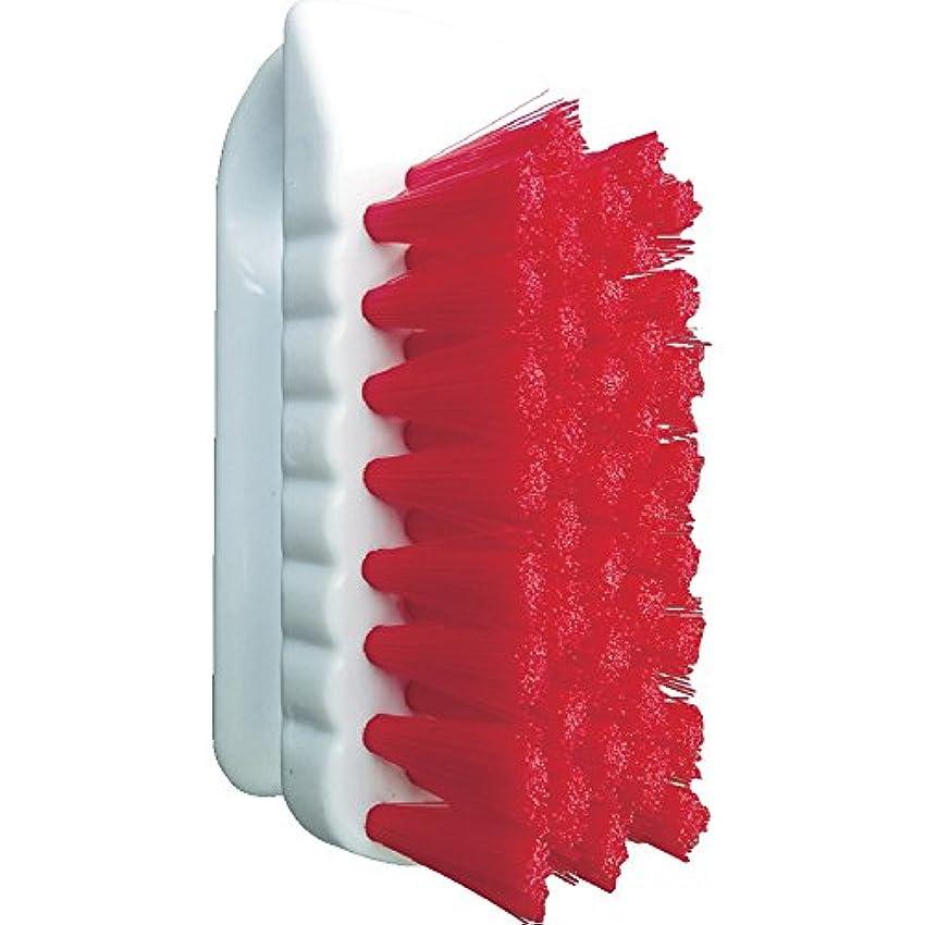 追い出す収束受けるバーテック バーキュート 私の爪ブラシ 赤 BCN-R 61700101 つめ除菌ブラシ