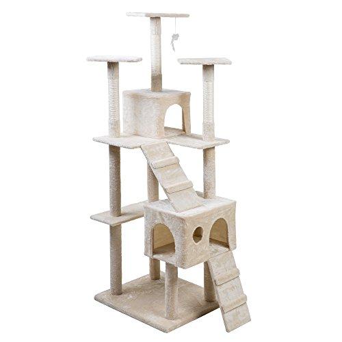 (OSJ)キャットタワー 猫 スタンダード式キャットタワー ...