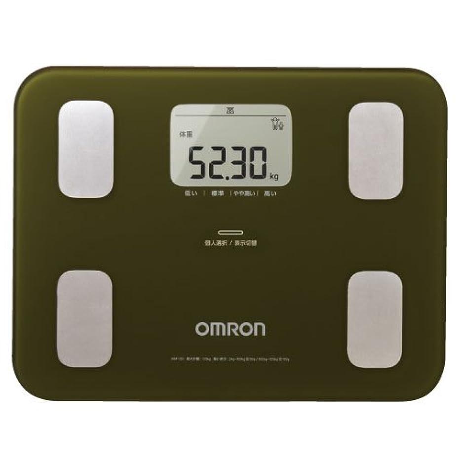 確保する売上高リフトオムロン 体重体組成計カラダスキャン HBF-251-G(グリーン)