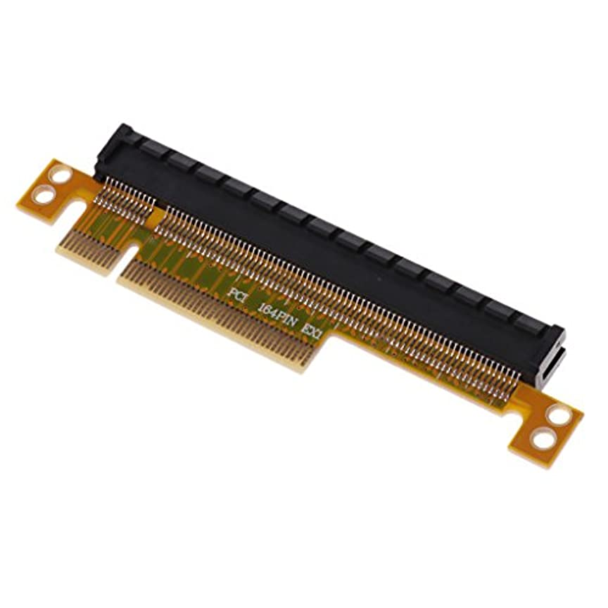 平らにする脱走勉強するHomyl PCI エクスプレス  ライザー カード  PCI-E x8 → x16  スロット アダプター 変換ボード
