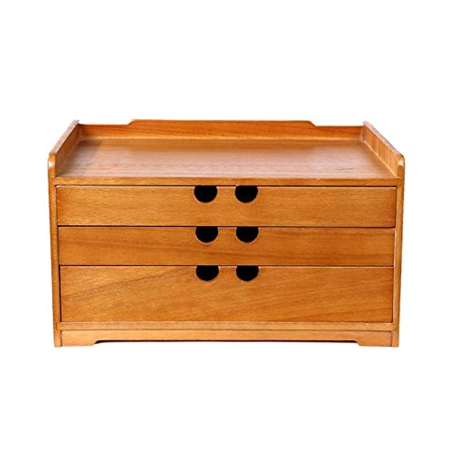 任命マラウイ言語学Xyanzi ミニデスクトップ木製引き出し、デスクトップ引き出しユニット小さな装飾木製引き出しホルダーデスク収納ボックスコンテナ用ホームおよびオフィス用 (Size : 34.5*19.7*24cm)