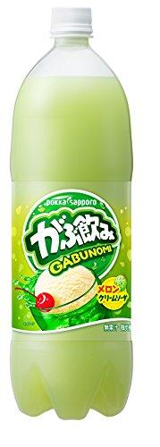 がぶ飲み メロンクリームソーダ(1.5L*8本入)