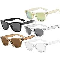 Eyekepper Classic Bifocal Sunglasses for Women 5 Pack Mix color +2.50