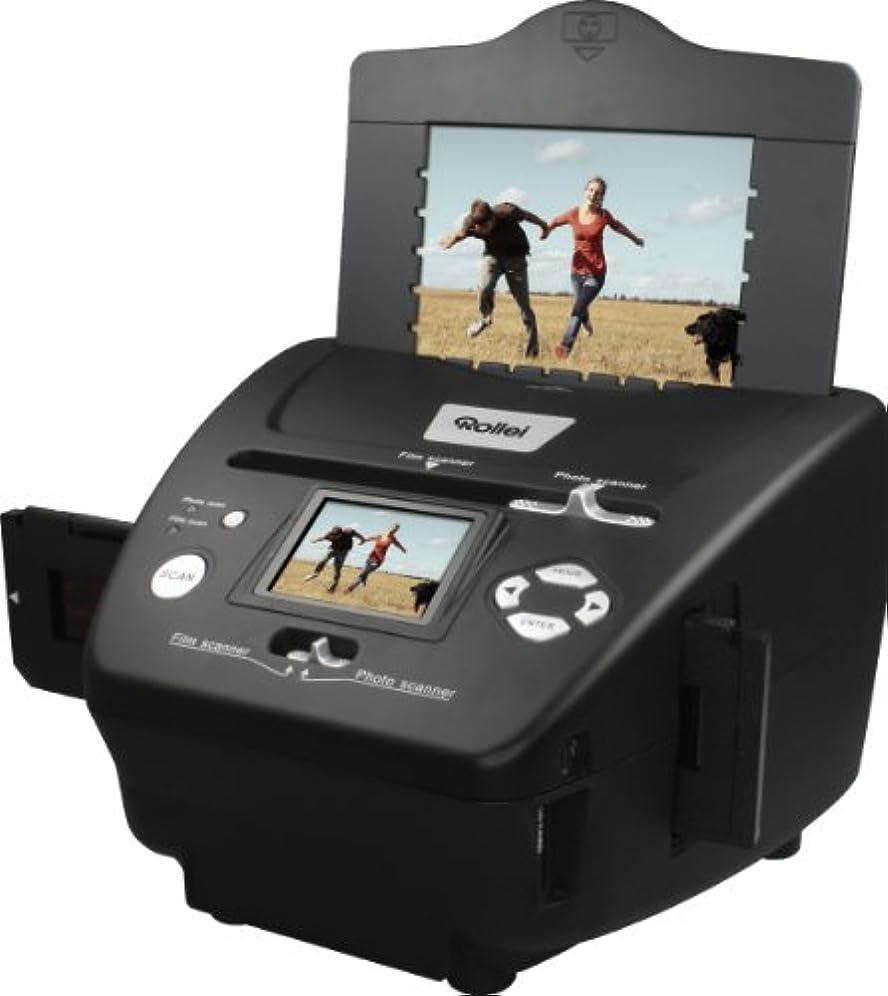 尾インシュレータターゲットRollei PDF-S 240 SE - スライド、ネガ、写真、画像補正ソフト - 黒用5.1メガピクセルマルチスキャナー