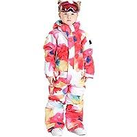 Girls Ski Jumpsuits One Piece Snowsuits Boys Winter Warm Snowboarding Suits for Kids