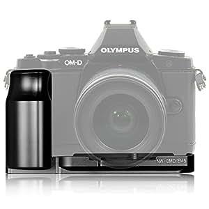 NEEWER ミラーレス一眼レフカメラ専用 ハンドグリップ/グリッププレート L型 Olympus OM-D E-M5 適用
