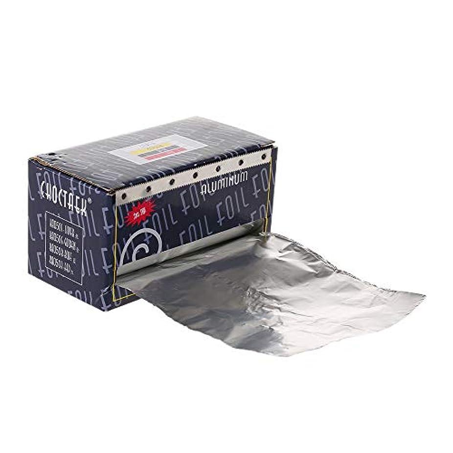 アベニュー割り当てる南方のDecdeal ヘア/ネイル用 錫箔紙 理髪用品用アルミ箔 ヘアサロンツール ヘアパーマヘアスタイリング着色