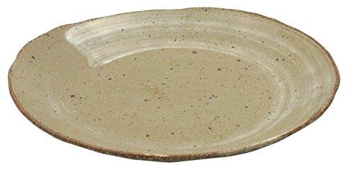 美濃焼 楕円皿 唐津白刷毛 123-1206