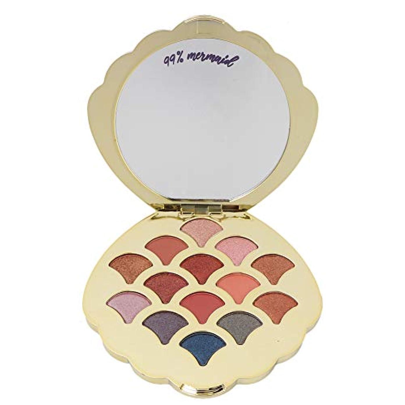 スキャンダラス部分的にリールアイシャドウパレット 14色 アイシャドウパレット 化粧マット グロス アイシャドウパウダー 化粧品ツール