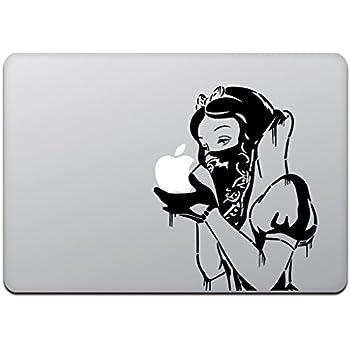 カインドストア MacBook Air/Pro 11 / 13インチ マックブック ステッカー シール 白雪姫 リベンジ 白雪姫の逆襲 バンダナ ギャング 13インチ ブラック M745-13-B