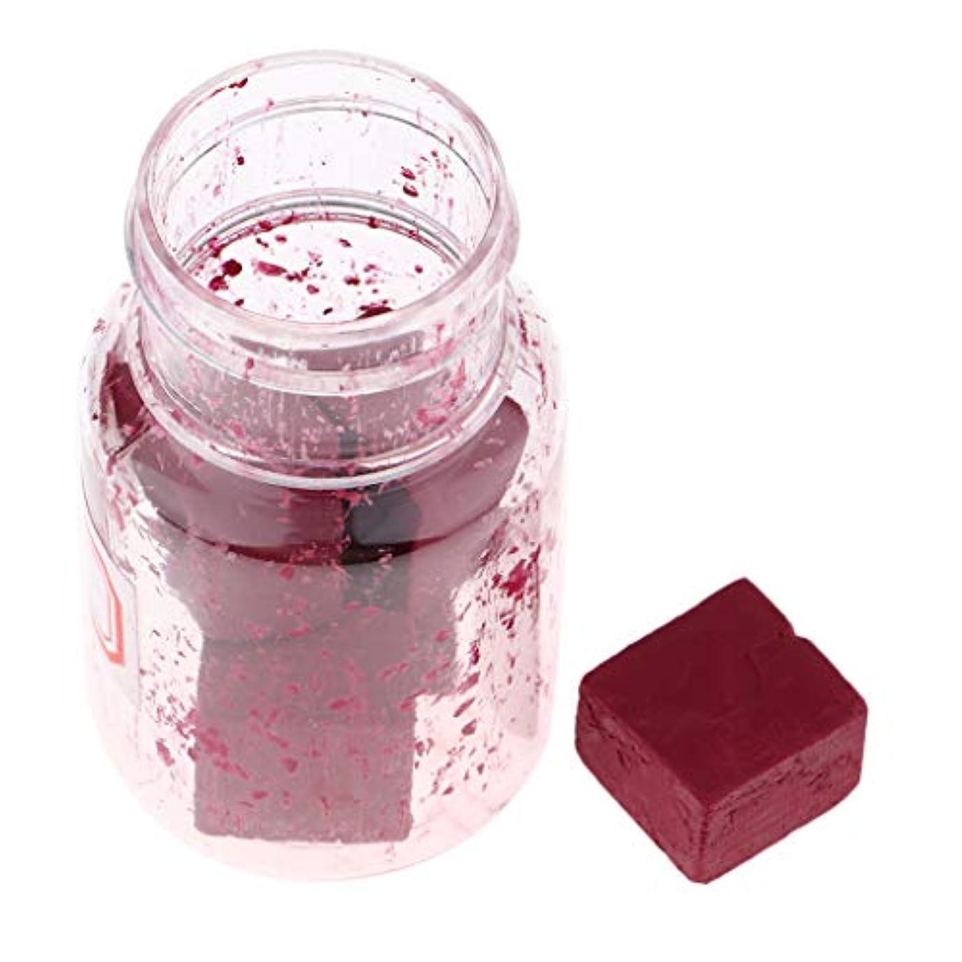 ブレイズバッテリー薄汚い口紅の原料 リップスティック顔料 DIYリップライナー DIY工芸品 9色選択でき - F