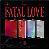 Monsta X Fatal Love 3rd Album Random Version CD+1p Poster+120p PhotoBook+1p Sticker+1p PhotoCard+Message PhotoCard Set+Tracki