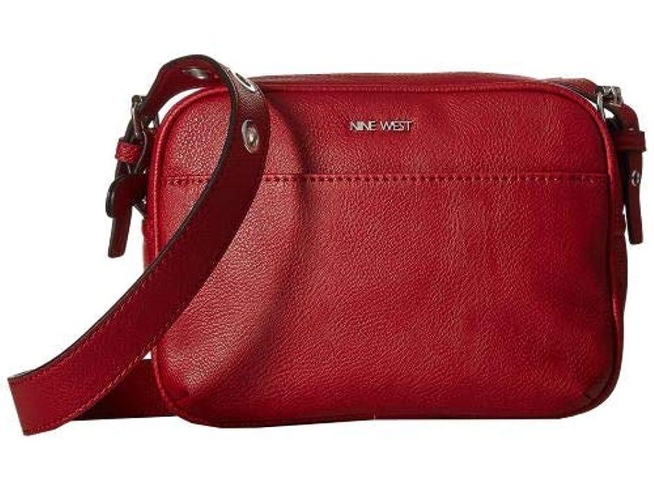 何でもクーポン歩行者Nine West(ナインウエスト) レディース 女性用 バッグ 鞄 バックパック リュック Nerina Crossbody - Ruby Red [並行輸入品]