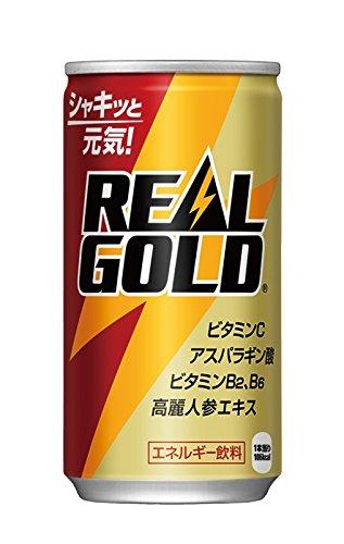 コカ・コーラ リアルゴールド 缶 190ml×30本