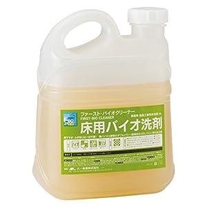業務用 床用バイオ洗剤 ファースト・バイオクリーナー 4L×4本入