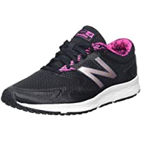 New Balance Women's Flash Running Shoes, Black/Pink