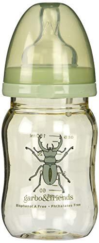 哺乳瓶THE BEETLE 150 ml/ 5 oz ワイドサイズ0-3ヶ月用乳首つき
