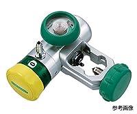 小池メディカル7-4831-28フロージェントルプラス(P型・G型・Y型酸素流量調整器)ヨーク式ボンベ用0~15L/min