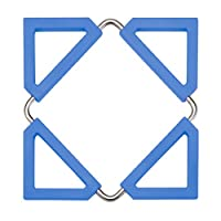 (Blue) - Pro-Mart Dazz Silicone Trivet & Pot Holder, Blue