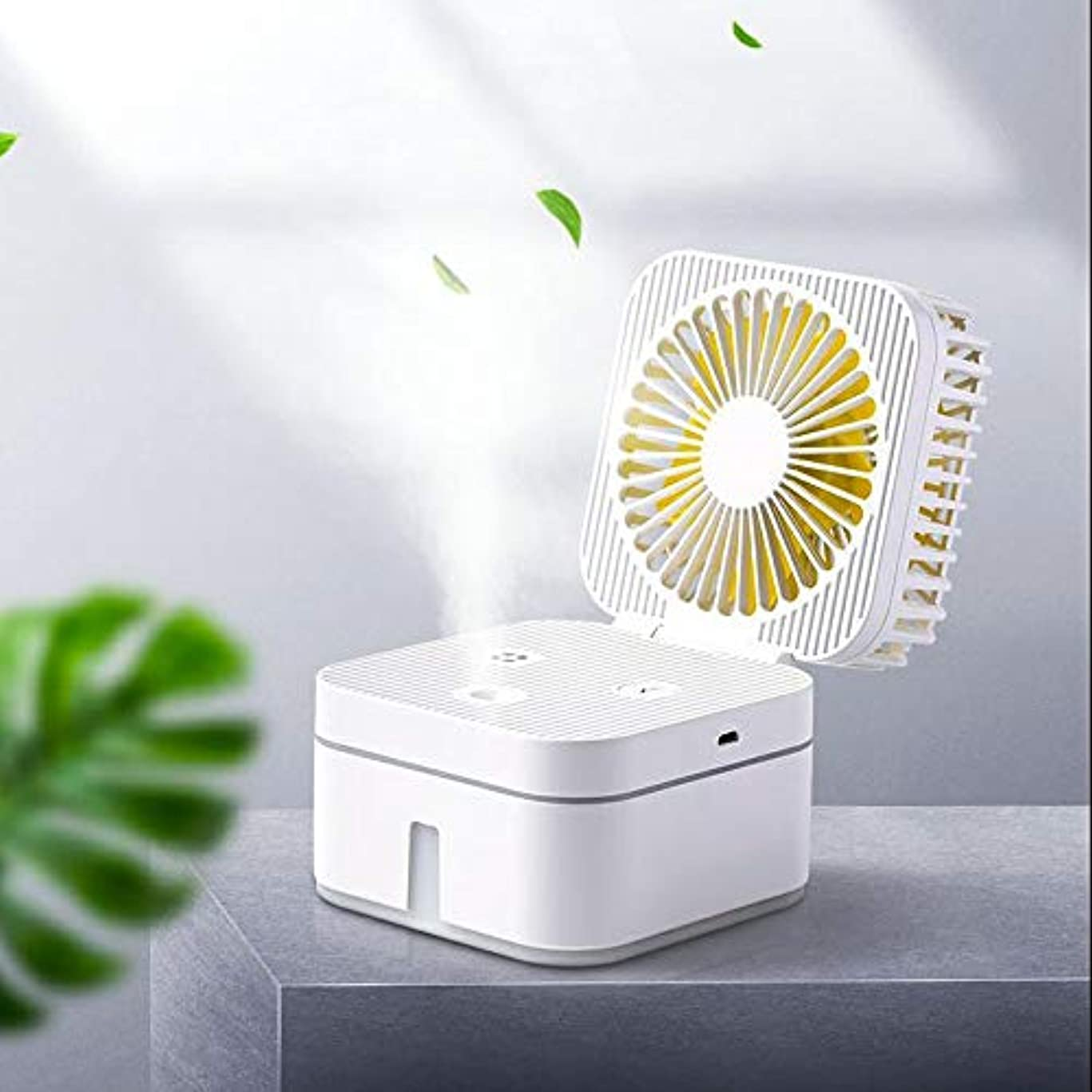 結晶アレイレコーダーSVHK USBミニ加湿器は、ファンの空気加湿器がスプレースキンナノテクノロジーのための7色のライトカー事務所を静電気クリーンエアケアを排除スプレー