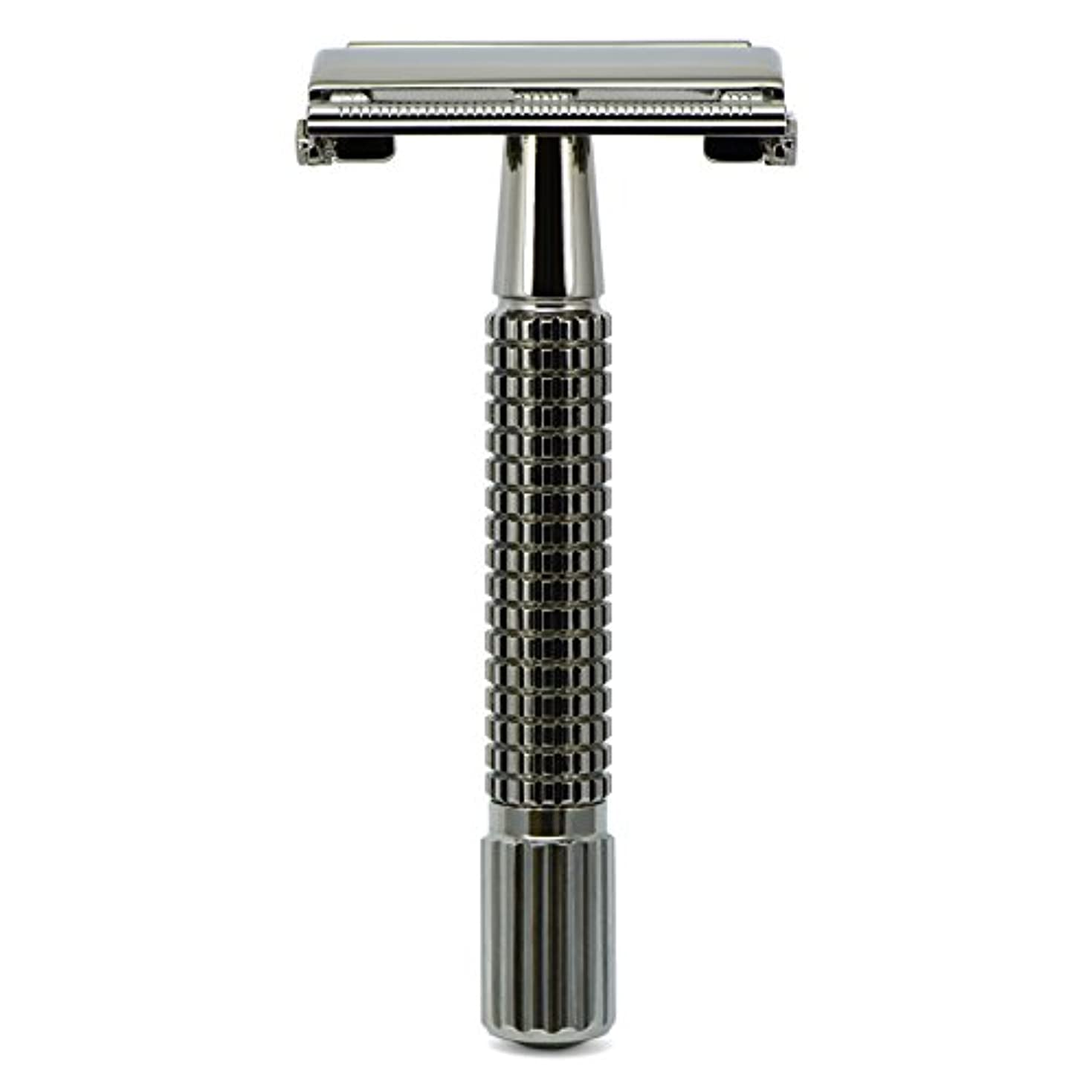 狐応援するジェームズダイソンG&F - Gentle Shaver Safety razor, Butterfly, black chrome, 8 cm