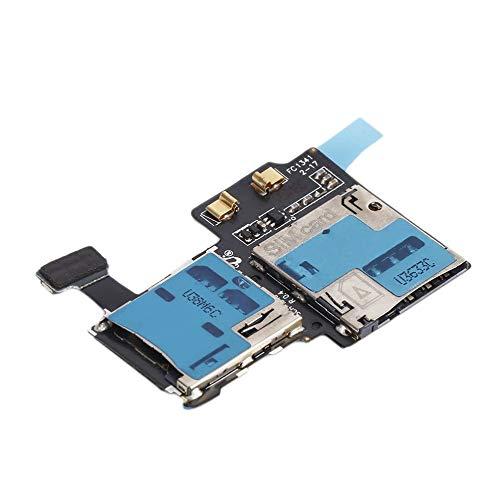 サムスンギャラクシーS4 i9505ユニバーサルUSB充電ポートフレックスケーブル用メモリカードリーダーSIMトレイホルダーフレックスケーブル