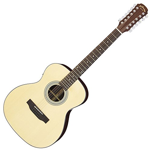 Aria/アリア  アリアドレッドノ-ト AF-205/12  AF205/12弦ギター N Natural/ナチュラル     専用ソフトケース付き