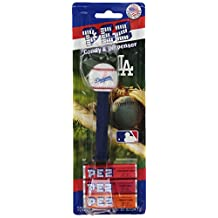 PEZ MLB LA Dodgers, 0.87-Ounce Candy Dispensers (Pack of 12)