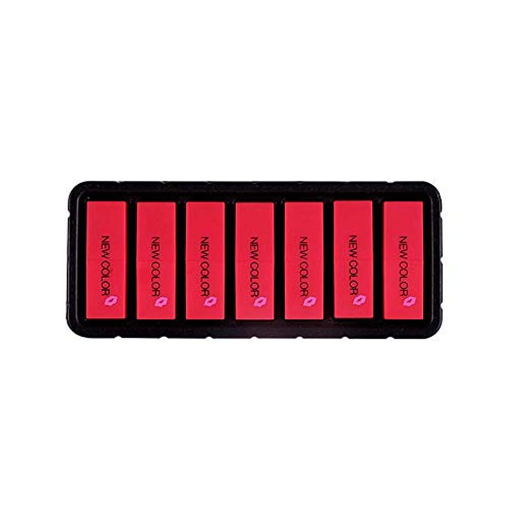 ヒープ舗装。Eldori 2019 新作 リップスティック セット 7色 口紅 長続き防水リップ 化粧品 マット リップスティック セット 5本/セットコスプレ、ハロウィーン、クリスマスなどに兼用 カボチャの色 (O)