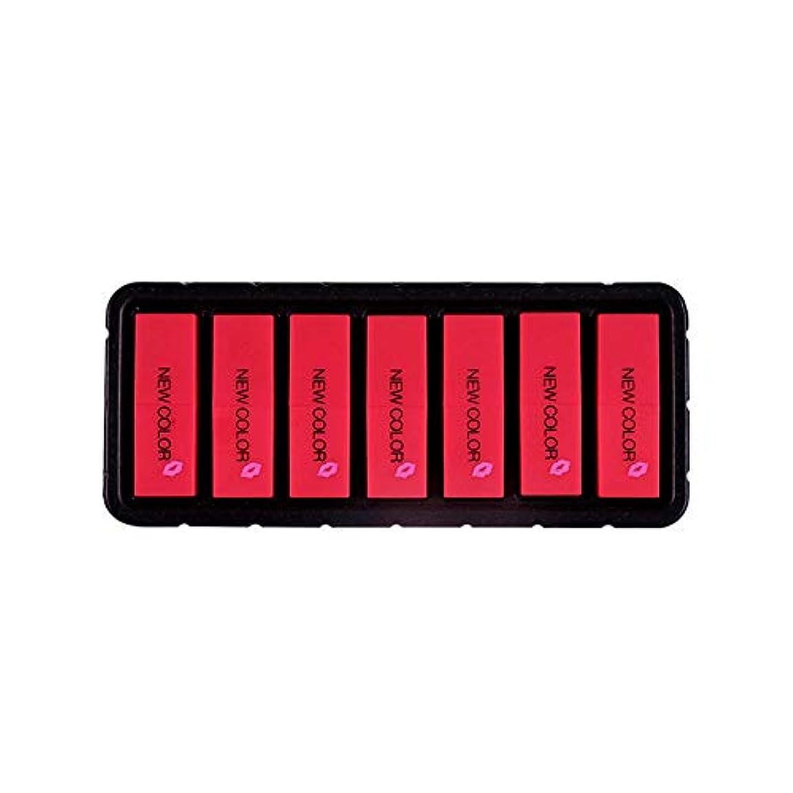 気付くどきどきモードリンEldori 2019 新作 リップスティック セット 7色 口紅 長続き防水リップ 化粧品 マット リップスティック セット 5本/セットコスプレ、ハロウィーン、クリスマスなどに兼用 カボチャの色 (O)