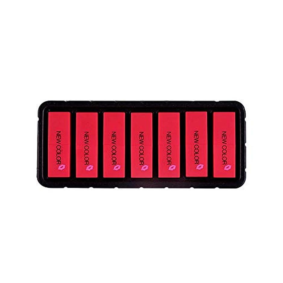 ベギン依存するナンセンスEldori 2019 新作 リップスティック セット 7色 口紅 長続き防水リップ 化粧品 マット リップスティック セット 5本/セットコスプレ、ハロウィーン、クリスマスなどに兼用 カボチャの色 (O)