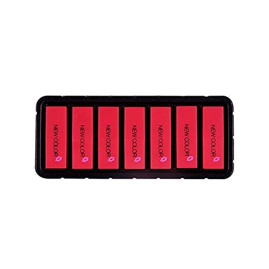 不信インポート人Eldori 2019 新作 リップスティック セット 7色 口紅 長続き防水リップ 化粧品 マット リップスティック セット 5本/セットコスプレ、ハロウィーン、クリスマスなどに兼用 カボチャの色 (O)