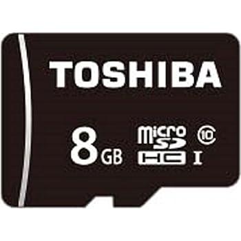 TOSHIBA microSDHCカード 8GB Class10 UHS-I対応 (最大転送速度40MB/s) 5年保証 (国内正規品) MSDAR40N08G