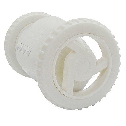 走る目覚まし、絶対起きるホワイト 面白目覚まし時計 かわいい クリエイティブ 移動型 (white)
