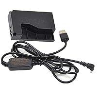 5V-8.4V USB電源アダプタ供給 ACK-E15 + DR-E15 LPE12 LP-E12仮想電池Canon EOS 100D Rebel SL1