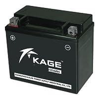 バイク用 バッテリー KGTX12-BS 12-BS シールド型 密閉型 フュージョン ゼファー ハヤブサ 【 互換 YTX12-BS FTX12-BS 】