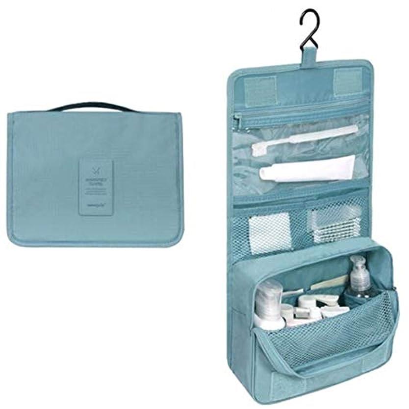 航空機抑止するアクセルWadachikis 例外的な女性ジッパーハンギング防水旅行トイレタリーの洗浄化粧品オーガナイザーバッグバッグ(None Picture Color)