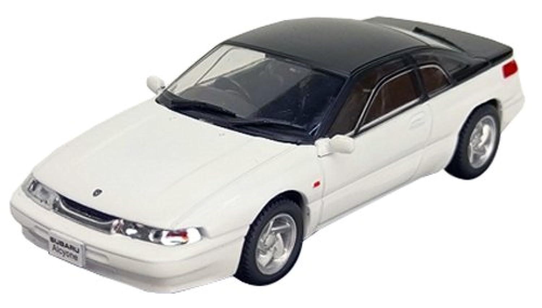 FIRST:43 1/43 スバル アルシオーネ SVX 1991 ホワイト 完成品