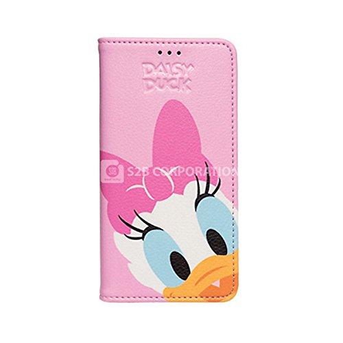 Galaxy S4 Disney Color Flip ディズニー カラー フリップ 手帳型 ケース カバー デイジー / Daisy ギャラクシー S4 (SC-04E)