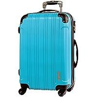 [グリフィンランド]_Griffinland TSAロック搭載 スーツケース キャリーケース 超軽量 メッシュ加工 FK2100-1 メッシュQueendom ハード ファスナー開閉式