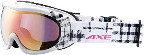AXE(アックス) レディース スキー・スノーボード ゴーグル AX600-WCM ホワイト(WT)