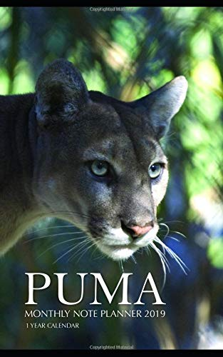 Puma Monthly Note Planner 2019...