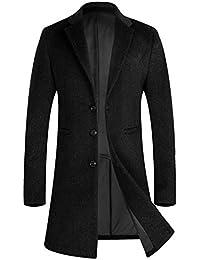 APTRO(アプトロ) コート メンズ 冬ジャケット ロング丈 ウール ラシャ オシャレ ビジネス 通勤コート