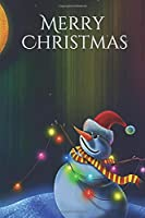 Merry  Christmas  Notebook, Cristmas Journal, Christmas Diary , Santa Claus • One Subject • 120 Pages: 6x9 in