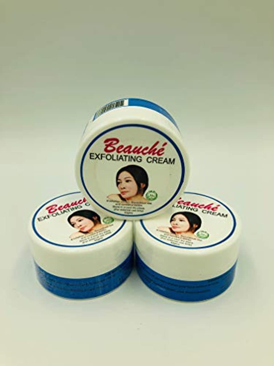 ペンス腹痛観客Beauche Cream 10g (Exfoliating Cream3個)